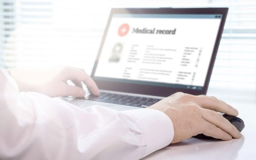 برون سپاری اسکن پرونده های پزشکی