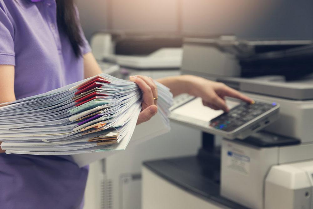 اسکن پرونده های پزشکی درون سازمانی