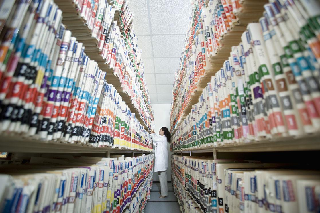 پرونده الکترونیک سلامت و اسکن پرونده های پزشکی
