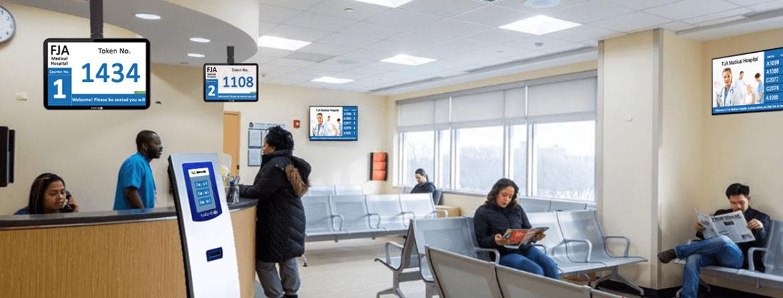 چرا بیمارستان ها از سیستم مدیریت صف استفاده می کنند؟